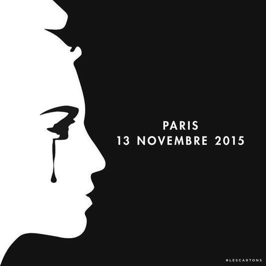 Rassemblement citoyen en hommage aux victimes de Paris