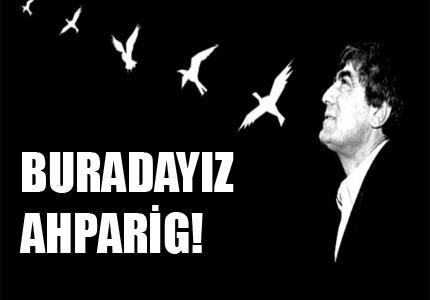 Dix ans après nous n'avons pas oublié Hrant Dink et nous ne l'oublierons pas !